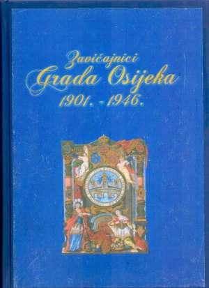 Zavičajnici grada Osijeka 1901. - 1946. Stjepan Sršan, Vilim Matić tvrdi uvez