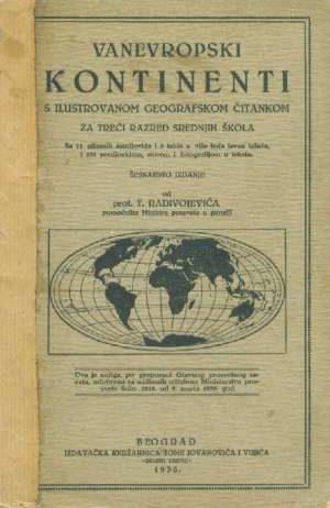 T. Radivojević - Vanevropski kontinenti