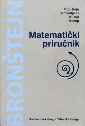 Matematički priručnik I. N. Bronštejn I Suradnici meki uvez
