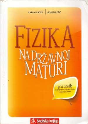 Fizika na državnoj maturi Antonia Božić, Goran Božić meki uvez
