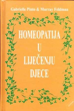 Homeopatija u liječenju djece Gabrielle Pinto, Murray Feldman tvrdi uvez
