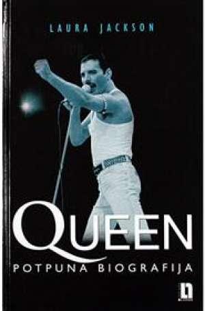 Queen potpuna biografija Laura Jackson tvrdi uvez