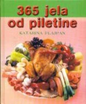 365 jela od piletine Katarina Flajpan tvrdi uvez