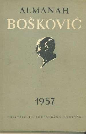 G. A. - Bošković almanah hrvatskoga prirodoslovnog društva