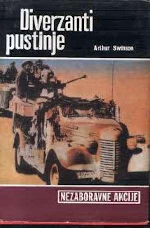 Diverzanti pustinje Arthur Swinson tvrdi uvez