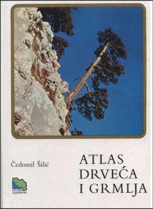 Atlas drveća i grmlja Čedomil Šilić tvrdi uvez
