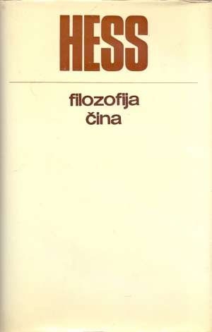 Filozofija čina Moses Hess tvrdi uvez
