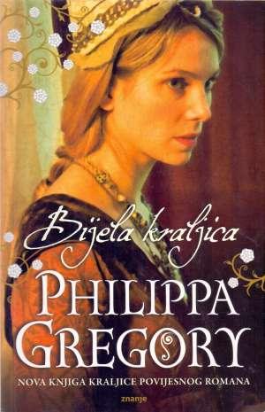 Bijela kraljica Gregory Philippa meki uvez