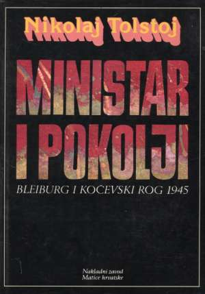 Tolstoj  Nikolaj - Ministar i pokolji