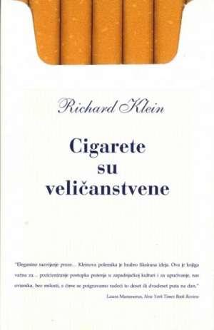 Cigarete su veličanstvene Klein Richard meki uvez