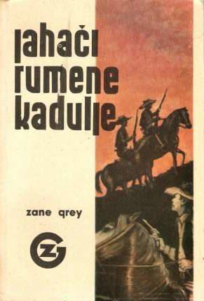 Jahači rumene  kadulje Grey Zane meki uvez