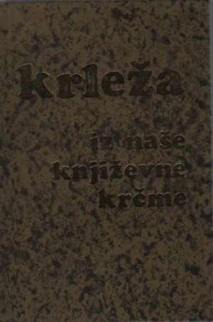 Iz naše književne krčme Miroslav Krleža tvrdi uvez