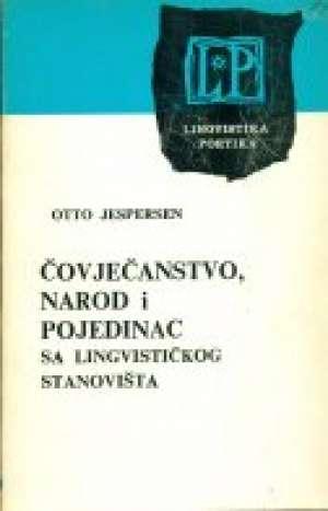 Jaspersen Otto - čovječanstvo,narod i pojedinac sa lingvističkog stanovišta