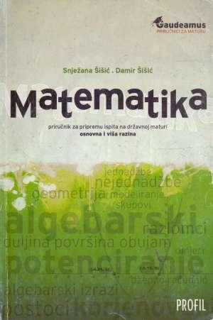 Matematika Snježana Šišić, Damir Šišić meki uvez
