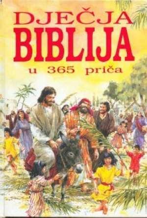 Dječja biblija u 365 priča Mary Batchelor tvrdi uvez