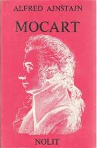 Alfred ajnštajn Mocart meki uvez