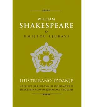 O umijeću ljubavi Shakespeare William tvrdi uvez