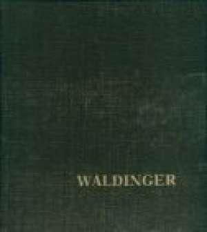 Adolf Waldinger (1843-1904) Oto Švajcer tvrdi uvez