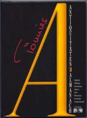 G.a - Antiquitaten almanach 89/90