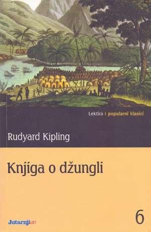 Knjiga o džungli Kipling Rudyard meki uvez