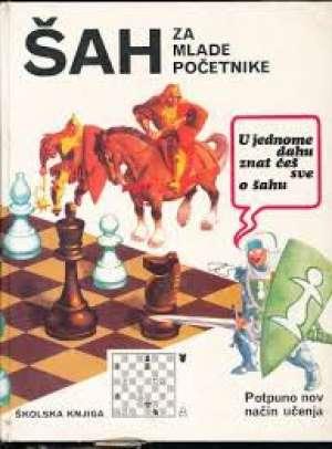Šah za mlade početnike William T. McLeod I Ronald Mongredien tvrdi uvez