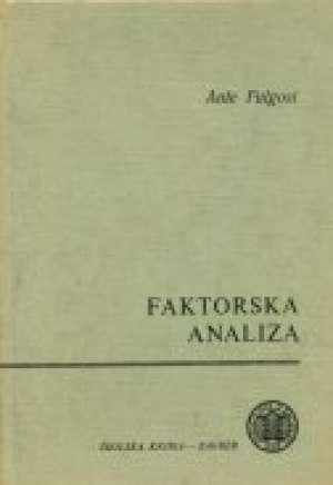 Faktorska analiza Ante Fulgosin tvrdi uvez