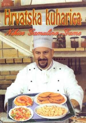 Hrvatska kuharica Nikica Gamulin Gama tvrdi uvez