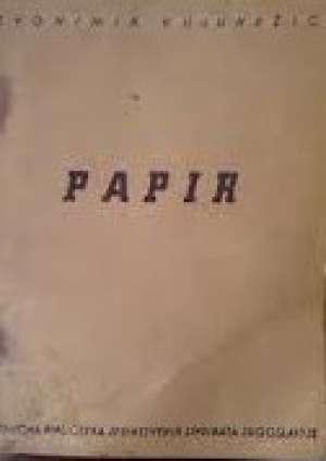 Papir Zvonimir Kulundžić meki uvez