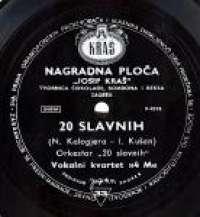 20 Slavnih 4M Vokalni Kvartet