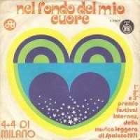 Nel Fondo Del Mio Cuore (Proplakat Će Zora) / Via Dei Ciclamini (Put Ciklama) 4 + 4 Di Milano D uvez