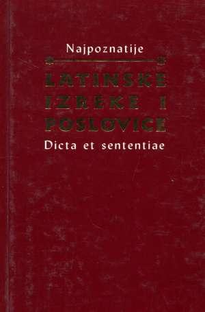 Iva Novak, Priredila - Najpoznatije latinske izreke i poslovice