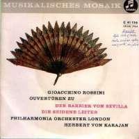 """Ouverture Zu """"Der Barbier Von Sevilla"""" / Ouverture Zu """"Die Seidene Leiter"""" Gioacchino Rossini D uvez"""