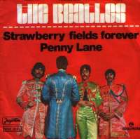 Strawberry Fields Forever / Penny Lane Beatles D uvez
