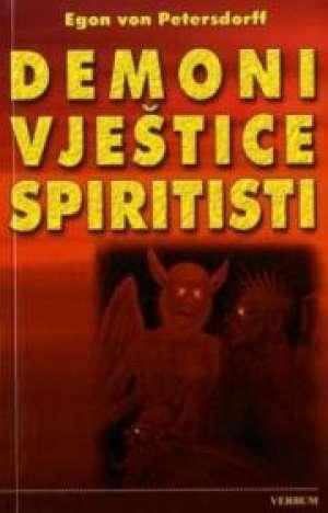 Demoni vještice spiritisti Egon Von Petersdorff meki uvez