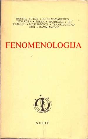 Fenomenologija Husserl I Drugi meki uvez