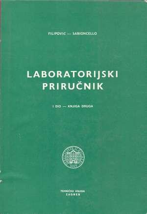 Ivan Filipović I Petar Sabioncello - Laboratorijski priručnik I. dio -knjiga druga