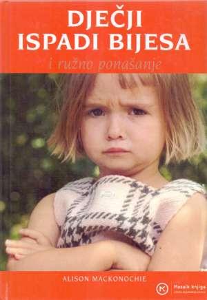 Dječji ispadi bijesa i ružno ponašanje Alison Mackonochie tvrdi uvez