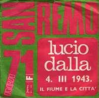 4. III 1943. / Il Fume E La Cita Lucio Dalla D uvez
