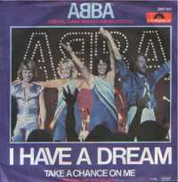 I Have A Dream / Take A Chance On Me (Recorded ABBA D uvez