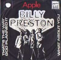 That s The Way God Planned It / What About You Billy Preston D uvez
