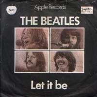 Let It Be / You Know My Name Beatles D uvez