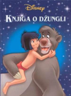 Knjiga o džungli Walt Disney Slikovnica tvrdi uvez