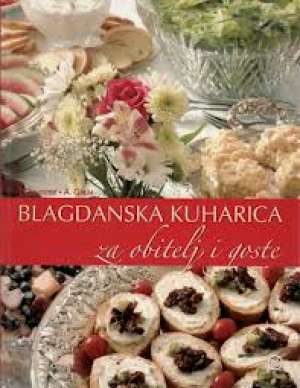 Blagdanska kuharica za obitelj i goste P.levstek, A. Grum tvrdi uvez