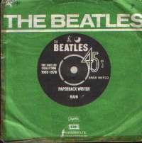 Paperback Writer / Rain Beatles D uvez
