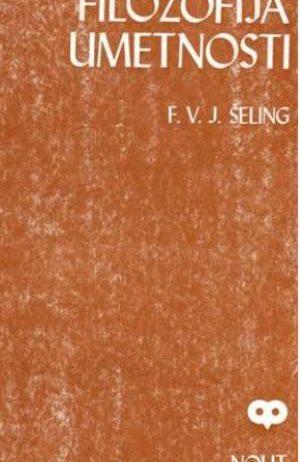 Filozofija umetnosti F. V. J. Schelling meki uvez