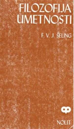 F.v.j. Schelling ( šeling) - Filozofija umetnosti