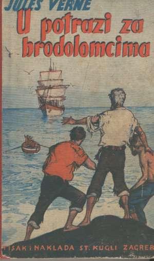 U potrazi za brodolomnicima Verne Jules tvrdi uvez