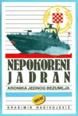 Nepokoreni Jadran Gradimir Radivojević tvrdi uvez