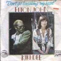 Dont Go Breaking My Heart / Snow Queen Elton John & Kiki Dee D uvez