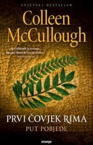 Prvi čovjek rima - put pobjede Mccullough Colleen meki uvez